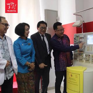 IMG 1014 - Prudential Indonesia Serius Bantu Pasien Kanker Anak Melalui Mesin Apheresis