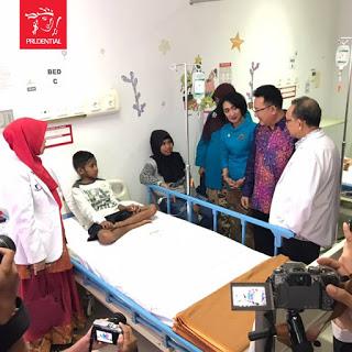 IMG 1016 - Prudential Indonesia Serius Bantu Pasien Kanker Anak Melalui Mesin Apheresis